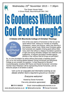 Goodness without god