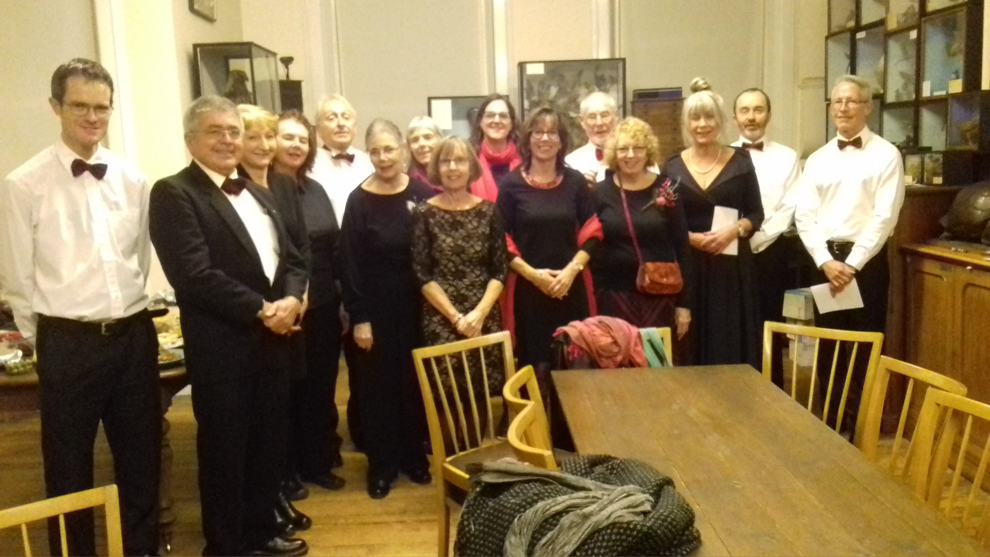 Dorset Humanists Choir – inaugural performance at Bournemouth Natural Science Society