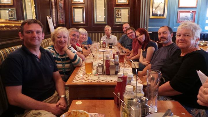 Our pub socials - a great way to make friends!